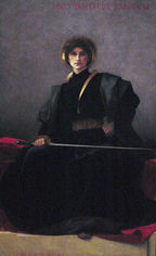 Alfred-Pierre Agache The Sword